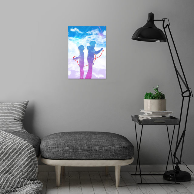 Your Name. (君の名は。, Kimi no na wa.?) - Fan Art. wall art is showcased in interior