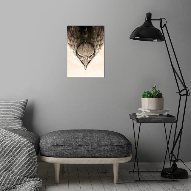 Wild Animals collection wall art is showcased in interior