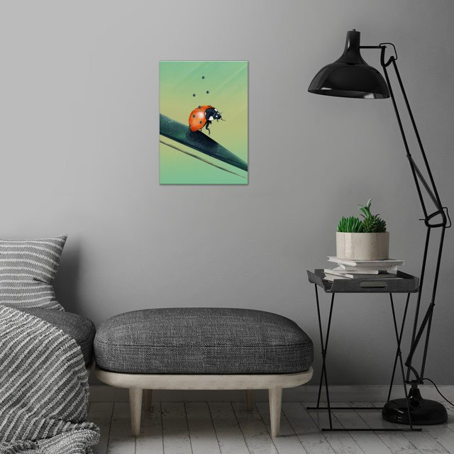 Oh, Bugger (Spring Version) | Digital Art  wall art is showcased in interior