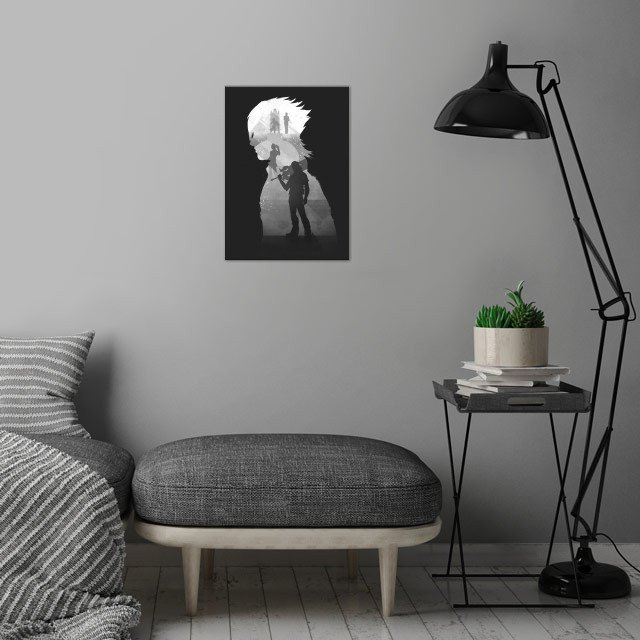 Noctis wall art is showcased in interior