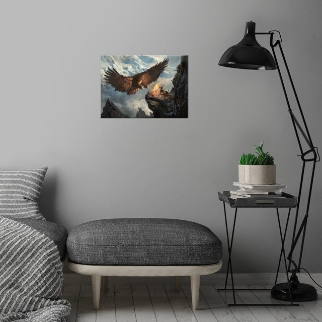 Secret Pass - Eagle Nest wall art is showcased in interior