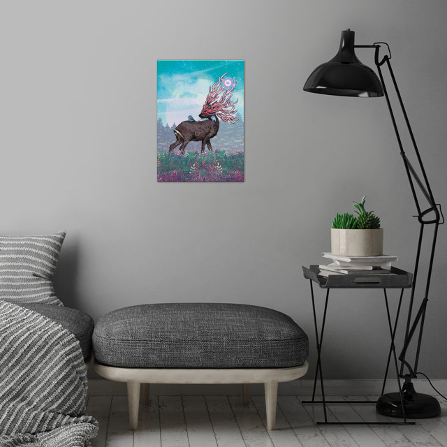 Companions wall art is showcased in interior