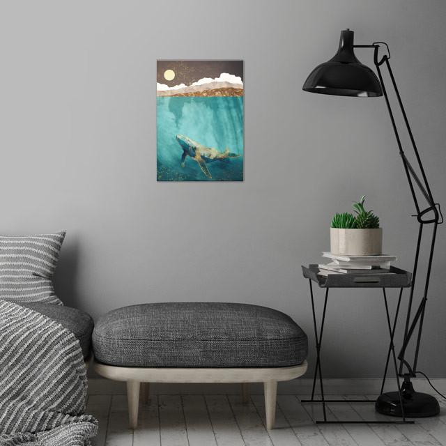 Light Beneath wall art is showcased in interior