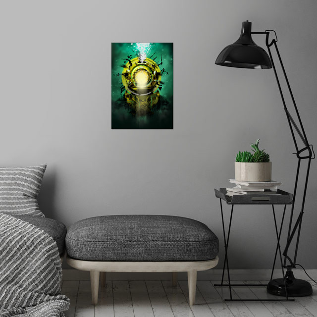 DEEP wall art is showcased in interior