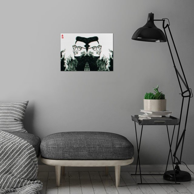 Double wall art is showcased in interior