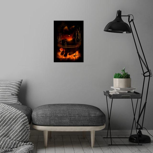 CatFish wall art is showcased in interior