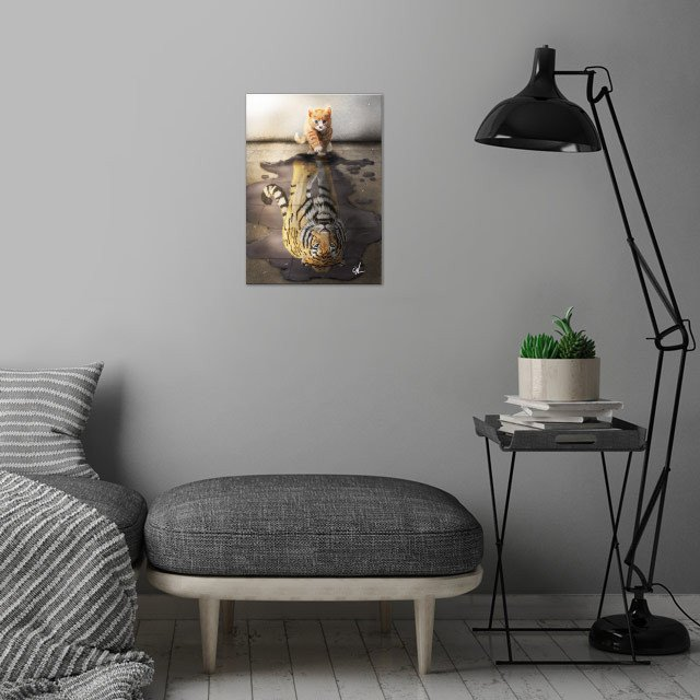 Believe in Yourselve! wall art is showcased in interior