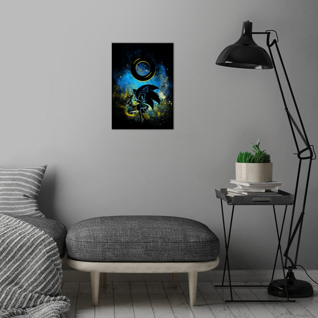 Ring Art wall art is showcased in interior