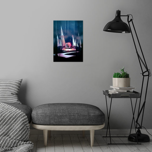 Stronger | Digital Art, 2017 wall art is showcased in interior