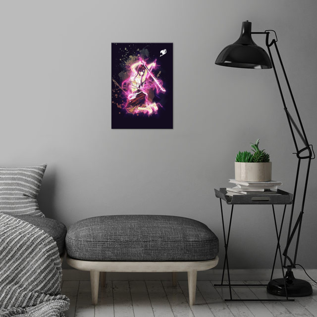 FairyTale / Renegade wall art is showcased in interior