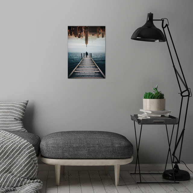 Follow Your Dreams wall art is showcased in interior