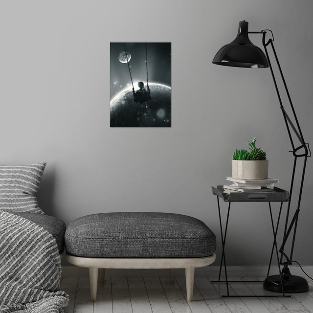Back and Forth  wall art is showcased in interior