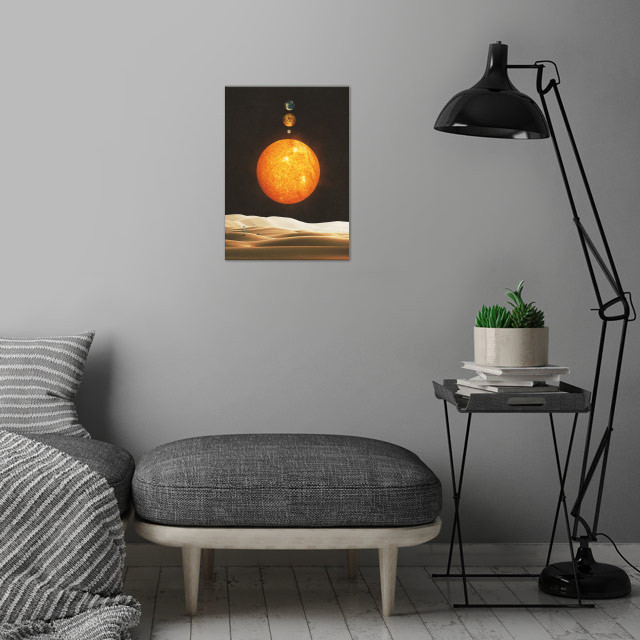 In Order wall art is showcased in interior