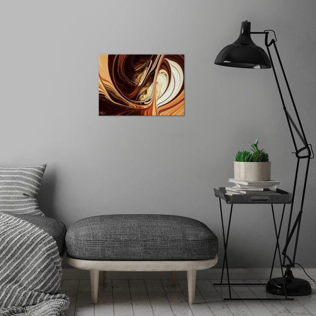 Chocolates wall art is showcased in interior