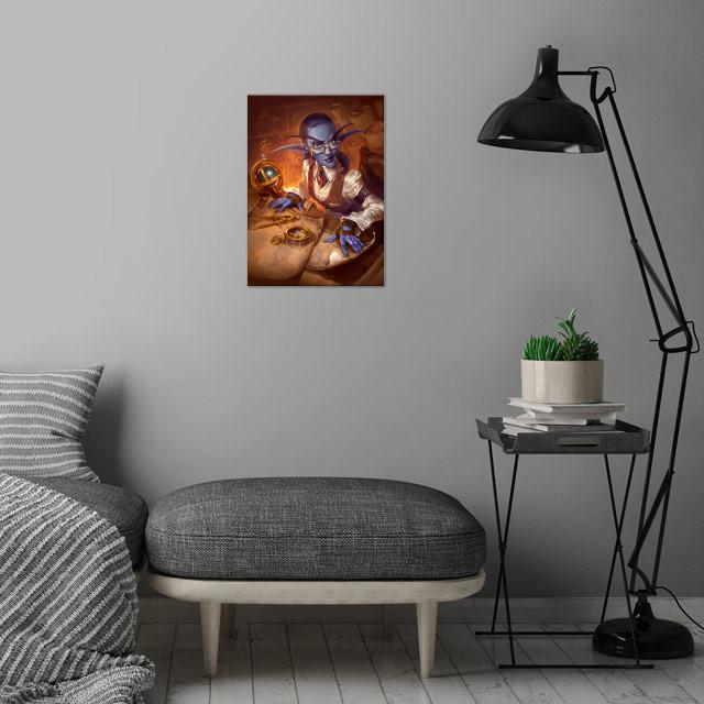 Elise Starseeker wall art is showcased in interior