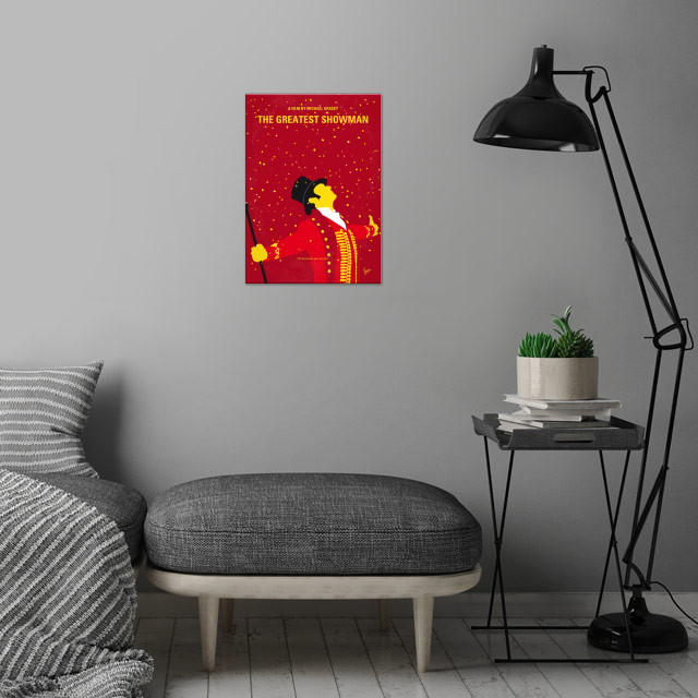 No965 My The Greatest Showman wall art is showcased in interior