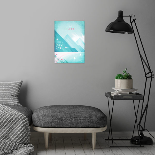 Italy wall art is showcased in interior