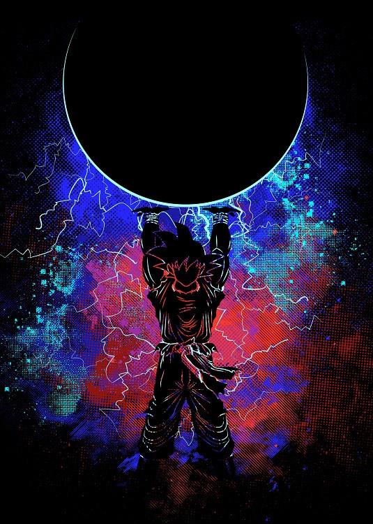 anime poster dragon ball