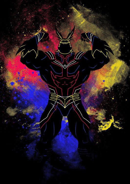 anime poster hero