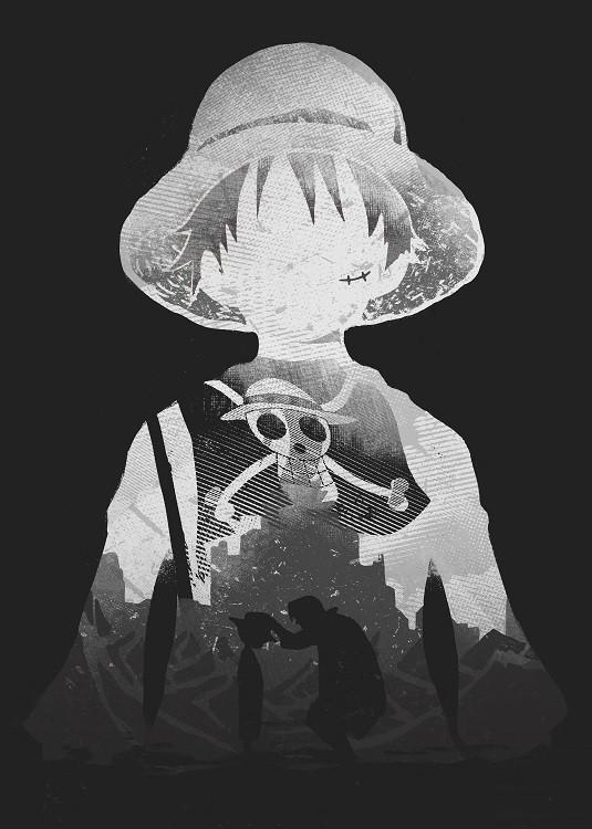 anime poster pirate king