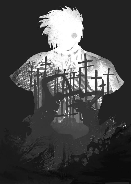 anime poster alucard