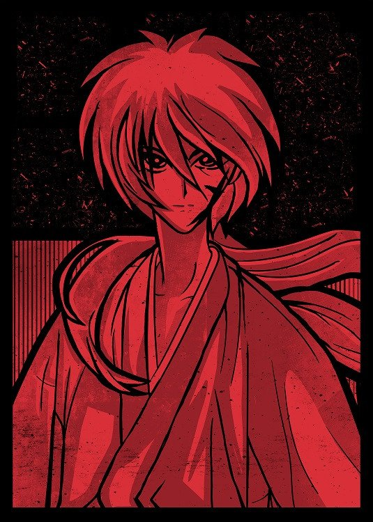 anime poster kenshin
