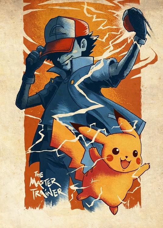 anime poster pokemon
