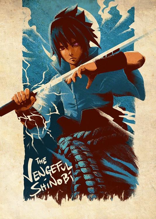 anime poster shinobi