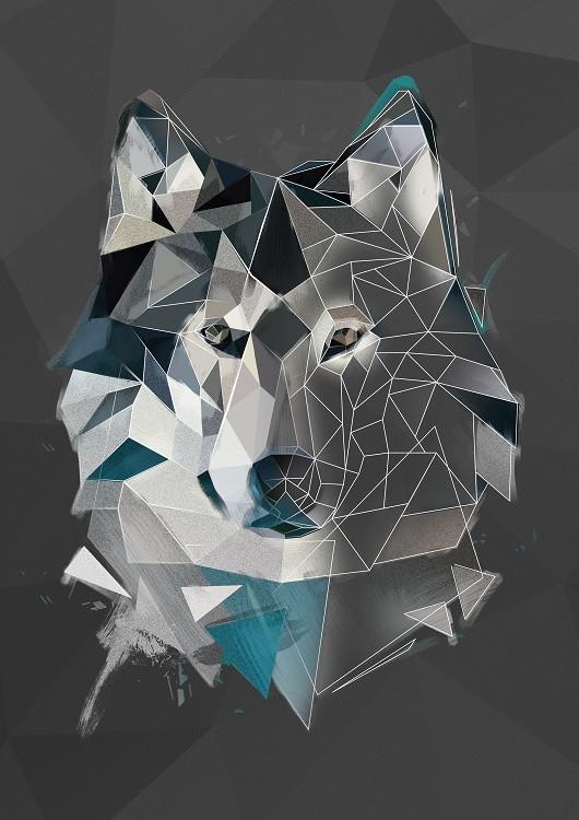 modern animals poster