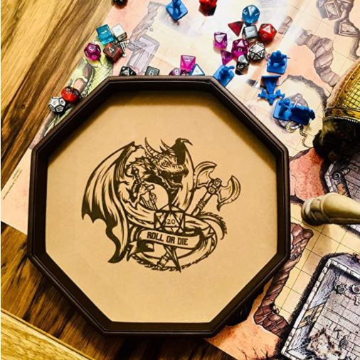Dice Tray Board Game Gift