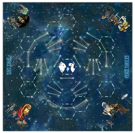 Playmat Board Game Gift