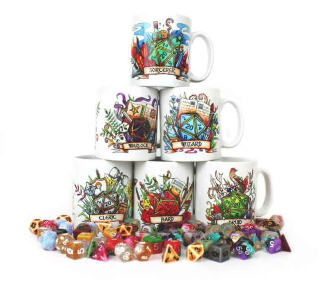Board Game Mugs Gift Idea