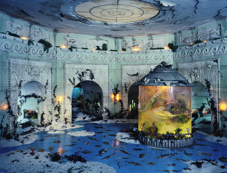 aquarium abandoned