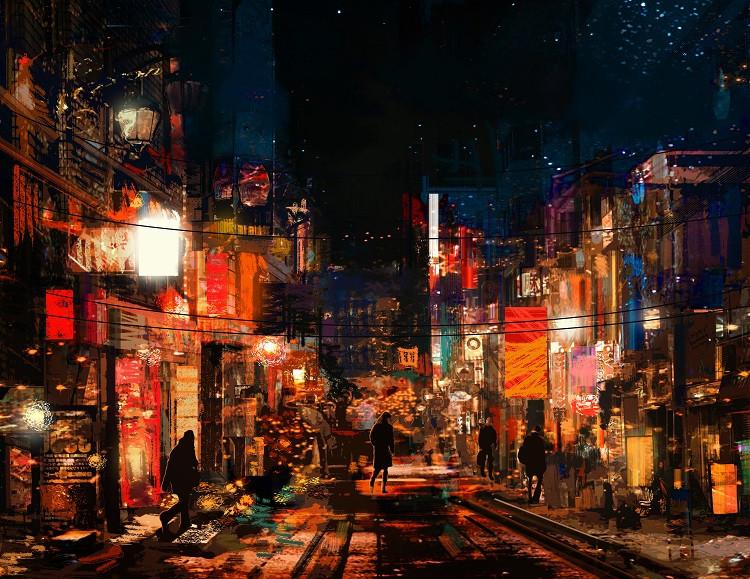 Concept Art Urban Environment