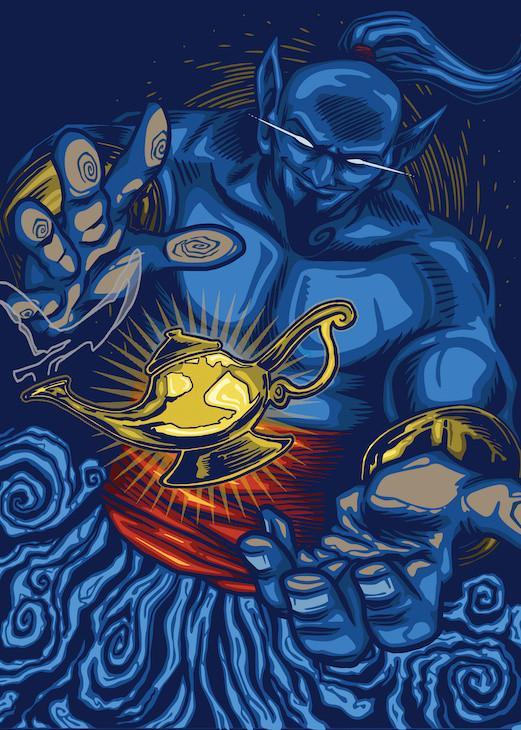 genie illustration