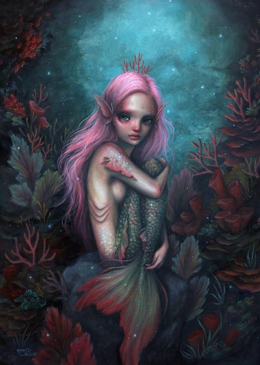 mermaid artwork