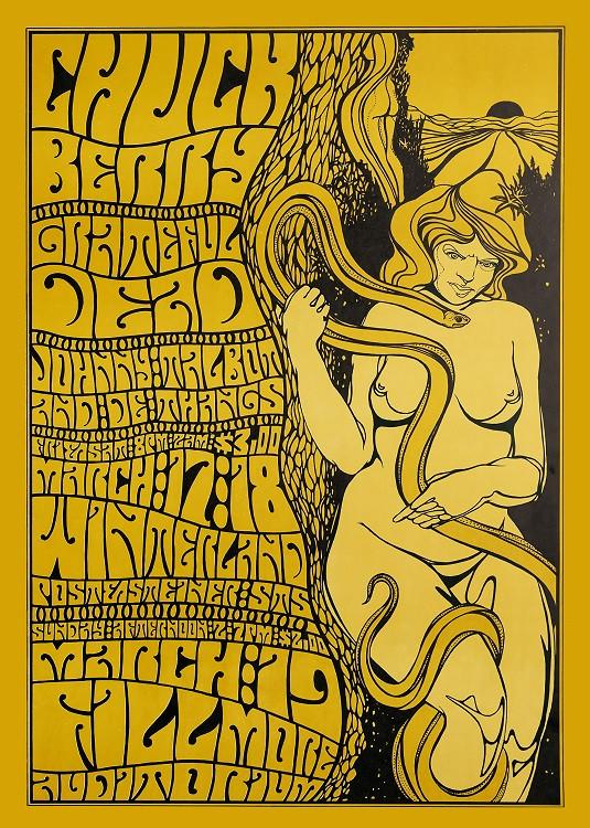 psychedelilc rock poster