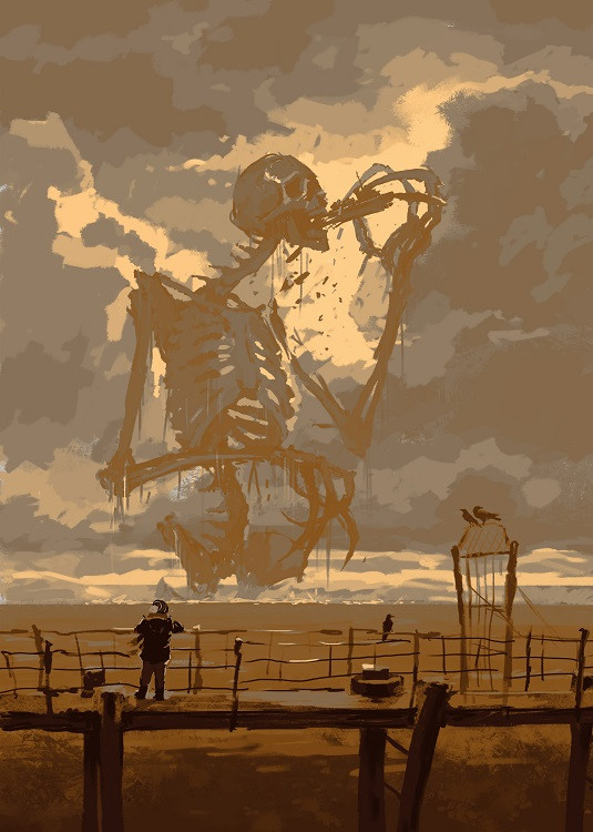 skeleton illustration