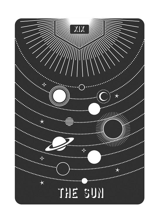 card deck illustration