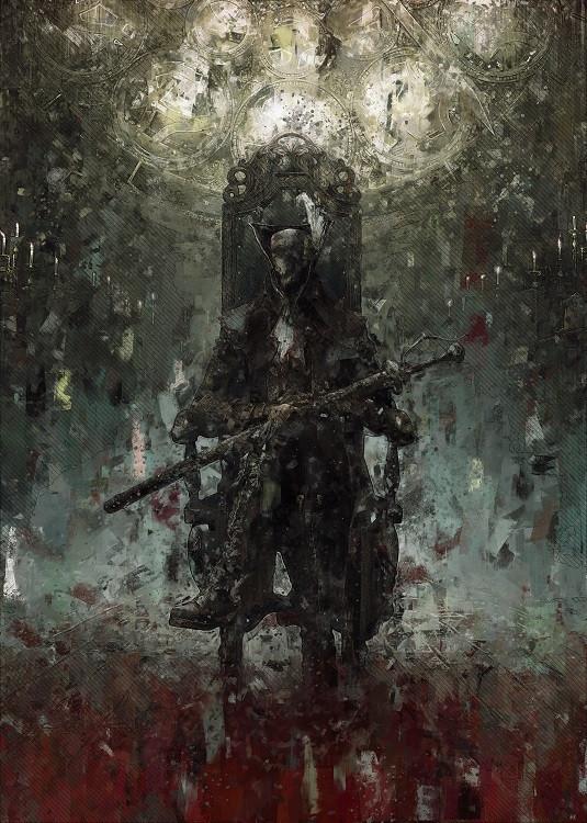 game poster bloodborne