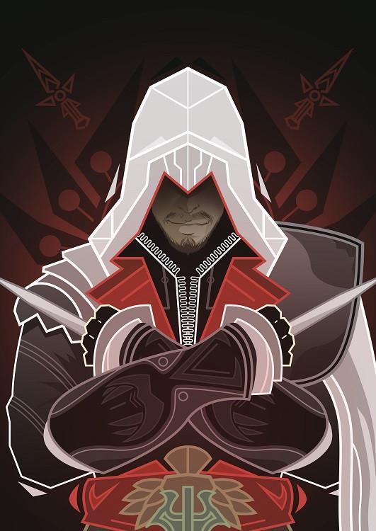 game poster ezio