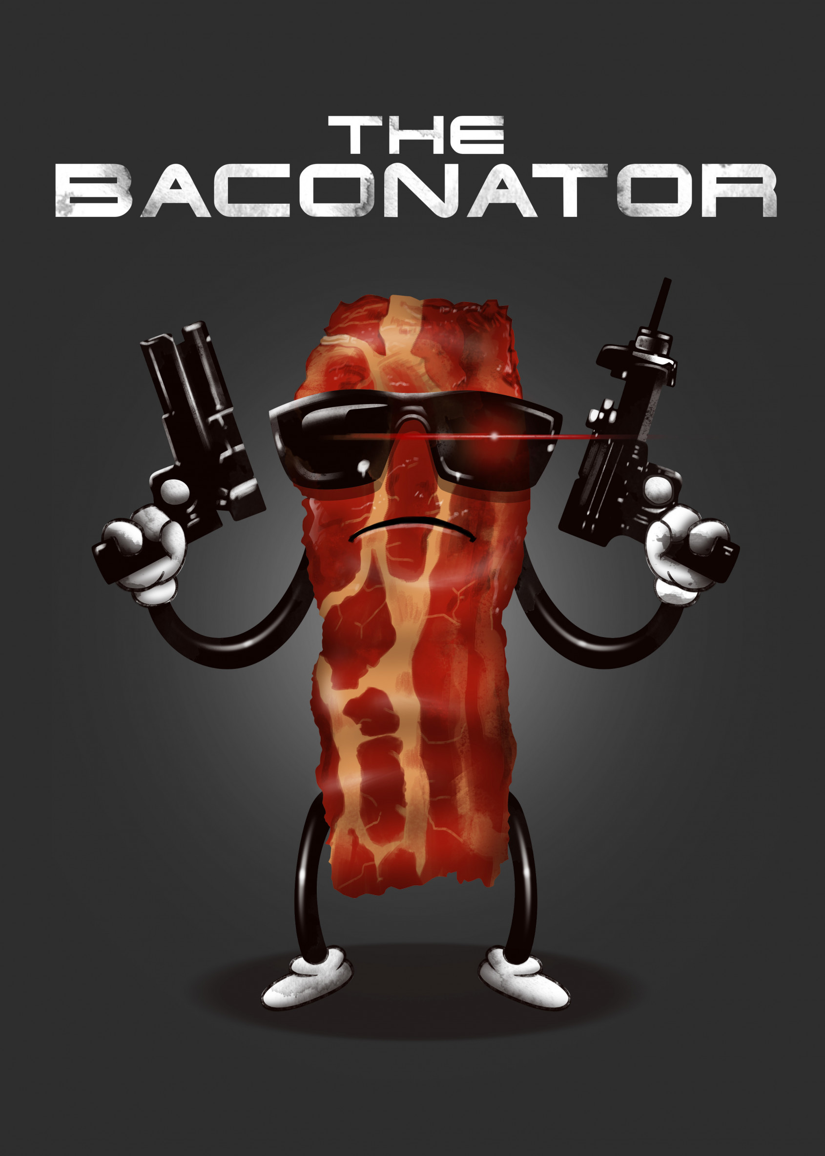 bacon with guns