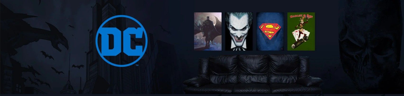 DC Comics Officialy Licensed Prints on Wall