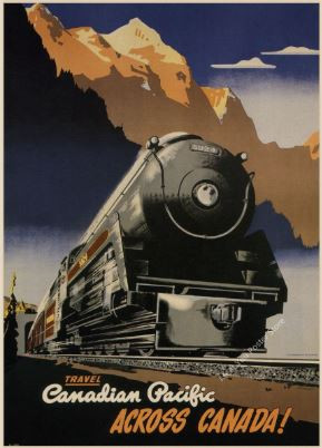 Canadian Pacific Vintage Travel Poster