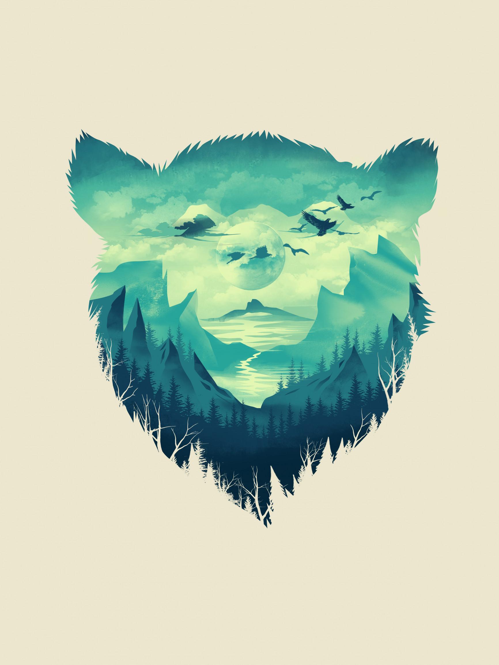 dan fajardo bear poster