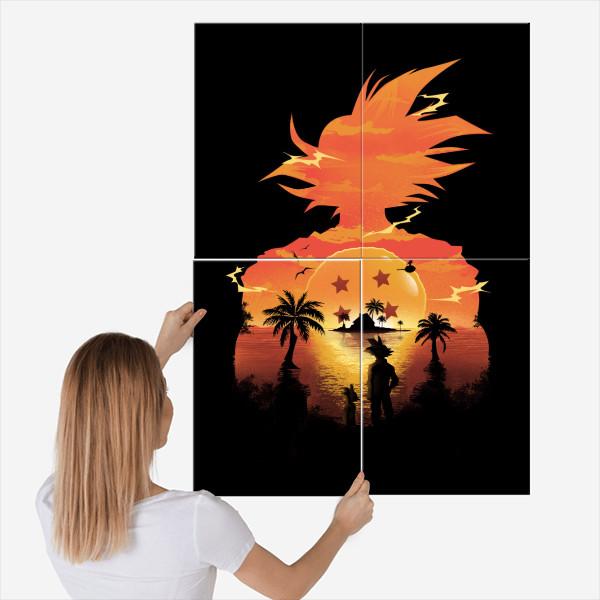 dan fajardo dragon ball poster