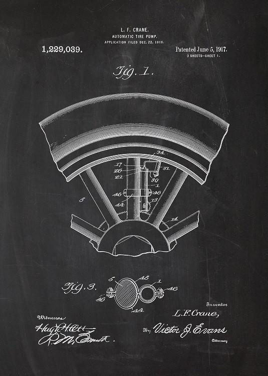 garage metal poster