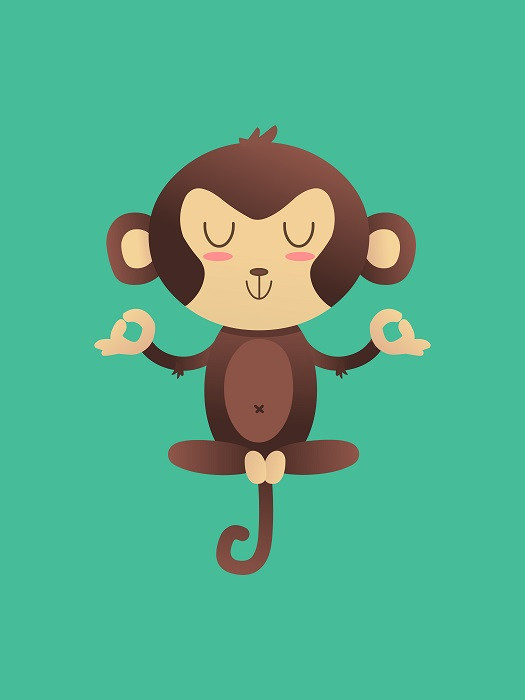 chimpanzee illustration