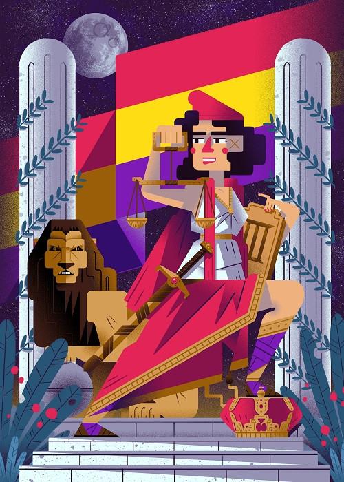 cubism illustration