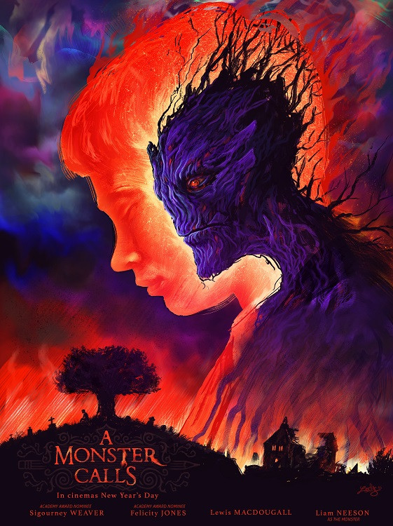 movie poster a monster calls